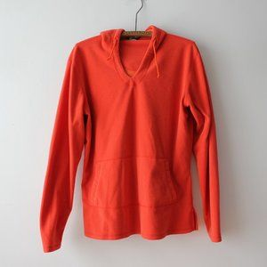 MEC Bright Orange Fleece Made in Canada XL